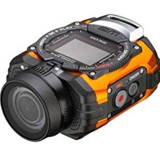 リコー(RICOH)のRICOH 防水アクションカメラ WG-M1★オレンジ★ (コンパクトデジタルカメラ)