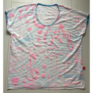 H.P.FRANCE - 美品!Juana de Arco 音符柄Tシャツ