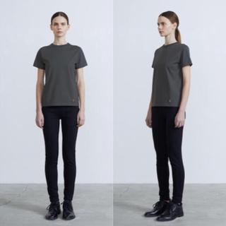 ハイク(HYKE)の新品タグ付き!THE RERACS 2019SS ベーシックTシャツ(Tシャツ(半袖/袖なし))