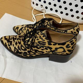 アングリッド(Ungrid)のUngrid アングリッド 靴 レオパード(ローファー/革靴)