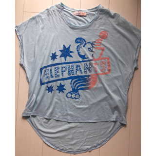 アッシュペーフランス(H.P.FRANCE)の美品!Juana de Arco サーカス柄Tシャツ 2018SS(Tシャツ(半袖/袖なし))