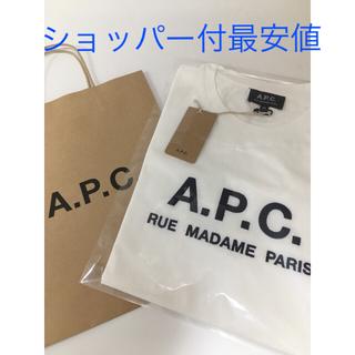アーペーセー(A.P.C)のA.P.CメンズXSサイズ Rue Madame apcアーペーセーtシャツ(Tシャツ/カットソー(半袖/袖なし))