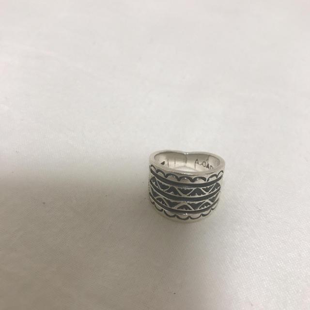 アンディキャドマン リング インディアンジュエリー ナバホ メンズのアクセサリー(リング(指輪))の商品写真