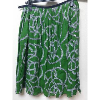 ミナペルホネン(mina perhonen)のサリースコット  スカート  11号(ひざ丈スカート)