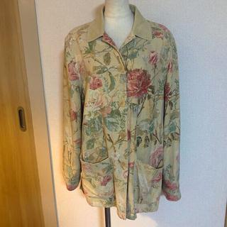 ラルフローレン(Ralph Lauren)のLAUREN 花柄ジャケット(テーラードジャケット)