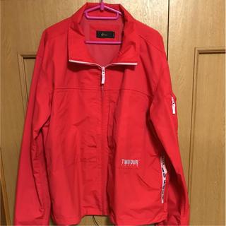 トゥエンティーフォーカラッツ(24karats)の24karats log zip jacket(ナイロンジャケット)