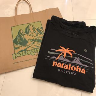 パタゴニア(patagonia)の16 パタロハ Tシャツ Haleiwa限定 レディース 【S】 黒(Tシャツ(半袖/袖なし))
