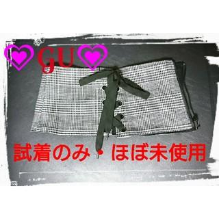 GU - ★GU★美品・ほぼ未使用★コルセットベルト