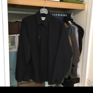 マルニ(Marni)のマルニ    19SS   シャツジャケット   ネイビー(シャツ)