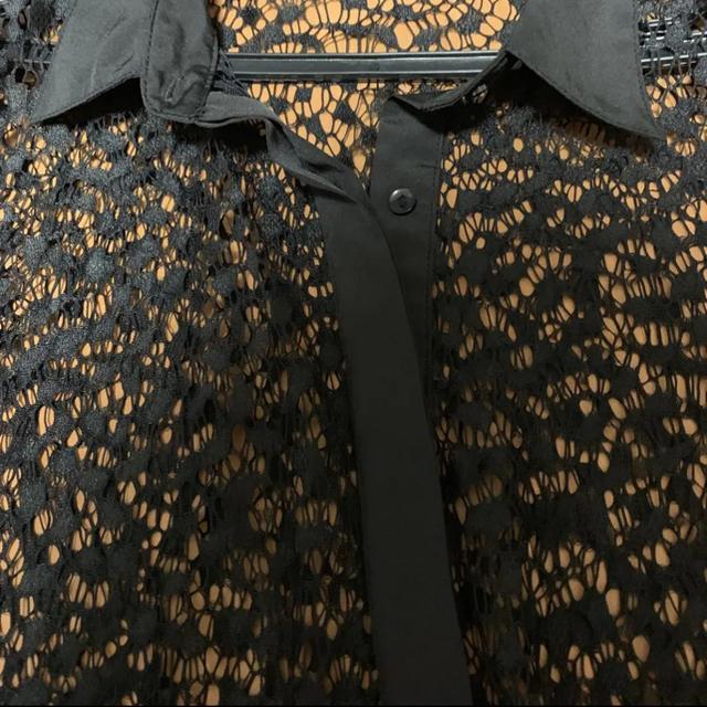 GU(ジーユー)のGU♡総レーストップス レディースのトップス(シャツ/ブラウス(半袖/袖なし))の商品写真