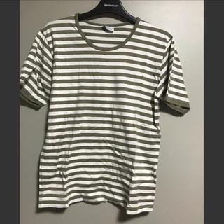 マリメッコ(marimekko)のmarimekkoボーダーT(Tシャツ(半袖/袖なし))