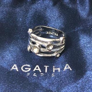 アガタ(AGATHA)の955 アガタ リング 袋付き(リング(指輪))