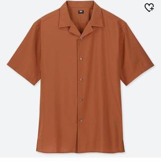 UNIQLO - ユニクロユー オープンカラーシャツ