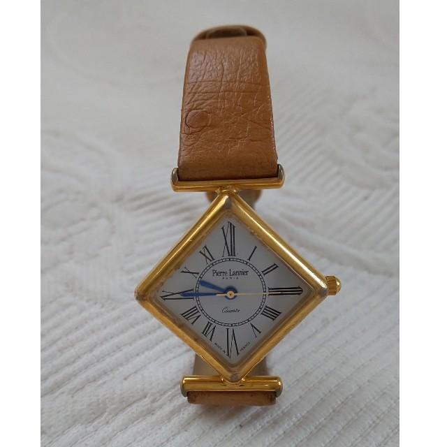 Pierre Lannier(ピエールラニエ)のPierre Lannier オーストリッチ腕時計 レディースのファッション小物(腕時計)の商品写真