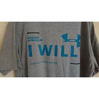 アンダーアーマー(UNDER ARMOUR)のUNDER ARMOUR アンダーアーマー グレー サイズL Tシャツ (Tシャツ/カットソー(半袖/袖なし))