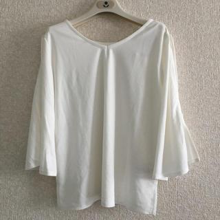ヴィス(ViS)のViS ビス カットソー Tシャツ 2way 新品(カットソー(長袖/七分))