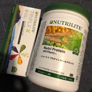 アムウェイ(Amway)のNutri Protein (All Plant) TRIPLE X(プロテイン)