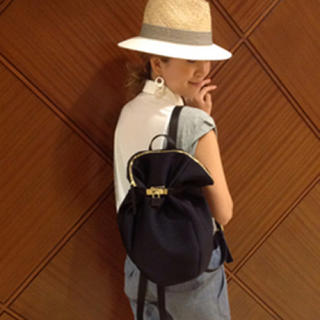 PAPILLONNER - kawakawa リュック 巾着