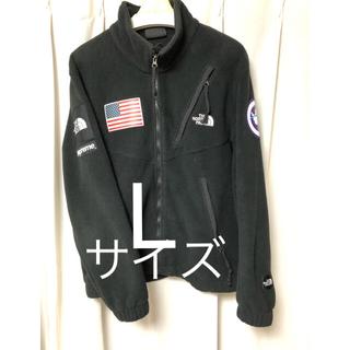 Supreme - supreme north face fleece jacket   Lサイズ