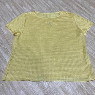 ダジュー(Dazur)の《Dazur》ダジュール イエロー LLサイズ(Tシャツ/カットソー(半袖/袖なし))