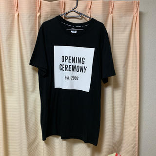 オープニングセレモニー(OPENING CEREMONY)のオープニングセレモニーTシャツ Sサイズ(Tシャツ/カットソー(半袖/袖なし))