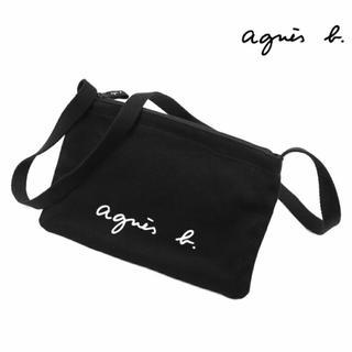 agnes b. - 新品タグ付き 完売商品 agnes b. ロゴサコッシュ