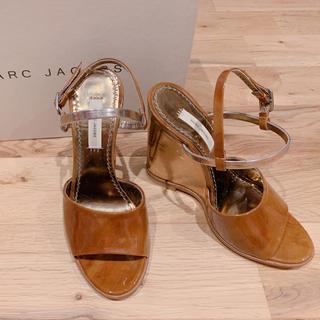 マークジェイコブス(MARC JACOBS)のMarc Jacobs マークジェイコブズ ウェッジサンダル 22.5cm 美品(サンダル)
