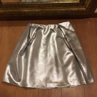 イネド(INED)の新品タグ付き ルフトローブ 23800円 スカート (ひざ丈スカート)