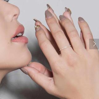 エイミーイストワール(eimy istoire)のeimy istoire k10 ダイヤリング エイミー リング 指輪(リング(指輪))