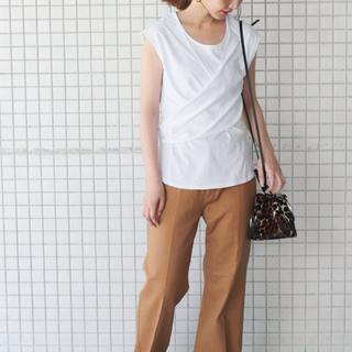 イエナスローブ(IENA SLOBE)のSLOBE IENA カシュリボンカットソー(Tシャツ(半袖/袖なし))