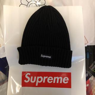 Supreme - supreme ビーニー ニット帽 ブラック シュプリーム