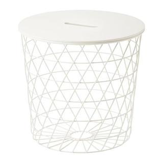 イケア(IKEA)のKVISTBRO リビングテーブル 収納付き(ローテーブル)