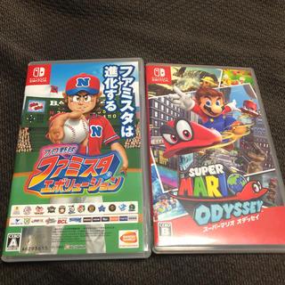 ニンテンドースイッチ(Nintendo Switch)のスーパーマリオ オデッセイ プロ野球 ファミスタ エボリューション(家庭用ゲームソフト)