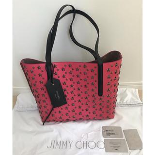 JIMMY CHOO - ☆極美品 日本未入荷カラー☆ジミーチュウ トートバッグ