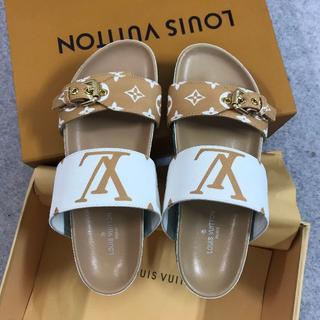 LOUIS VUITTON - LOUIS VUITTON ルイヴィトン 靴/シューズ サンダル 37