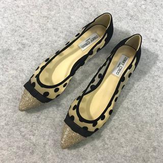 JIMMY CHOO - JIMMY CHOO ジミーチュウ  靴/シューズ パンプス  サイズ38