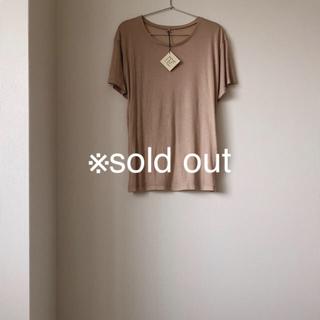 ビューティアンドユースユナイテッドアローズ(BEAUTY&YOUTH UNITED ARROWS)の【新品未使用】Baserange banboo loose Tshirts(Tシャツ(半袖/袖なし))
