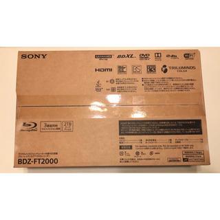 SONY - SONY BDZ-FT2000 ブルーレイディスクレコーダー
