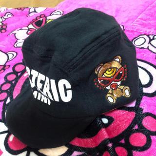 ヒステリックミニ(HYSTERIC MINI)の旧テディ♡ベビーキャップ(帽子)