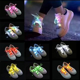 光る靴ひも!! 点滅発光LED 8色発光靴ひもヒップホップ シューズ オシャレ(スニーカー)