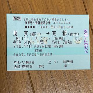 JR - 新幹線チケット
