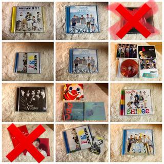 シャイニー(SHINee)のSHINee CD DVD 定価以下!!バラ売り可能!!(K-POP/アジア)