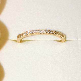 ヴァンドームアオヤマ(Vendome Aoyama)のヴァンドーム青山 K18ダイヤモンド0.1ct エタニティリング(リング(指輪))