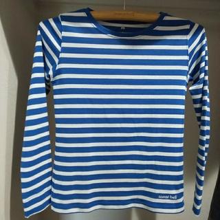 モンベル(mont bell)のモンベル ウィックロンボーダーロングスリーブT w's(Tシャツ(長袖/七分))