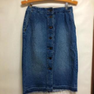 GU - デニムスカート GU デニムタイトスカート