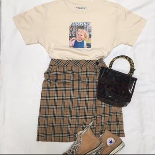 バーバリーブルーレーベル(BURBERRY BLUE LABEL)のBurberry スカート(ひざ丈スカート)