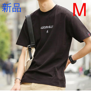 グラミチ(GRAMICCI)の新品未使用!グラミチ ロゴ Mサイズ 刺繍 Tシャツ (Tシャツ/カットソー(半袖/袖なし))