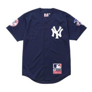 Supreme - Supreme New York Yankees Baseball jersey