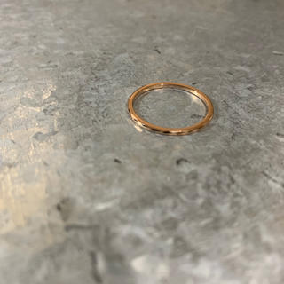 gold cut tungsten ring 1mm(リング(指輪))