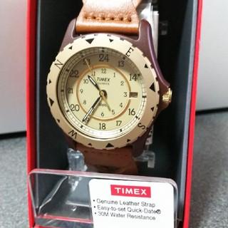 タイメックス(TIMEX)の【値下げ】TIMEX サファリ 復刻版 腕時計(腕時計(アナログ))